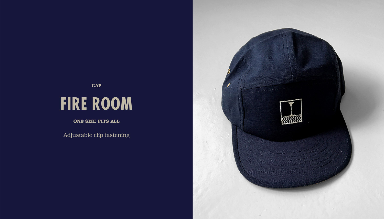 FIRE1984 catalog 20171 fire room cap navy