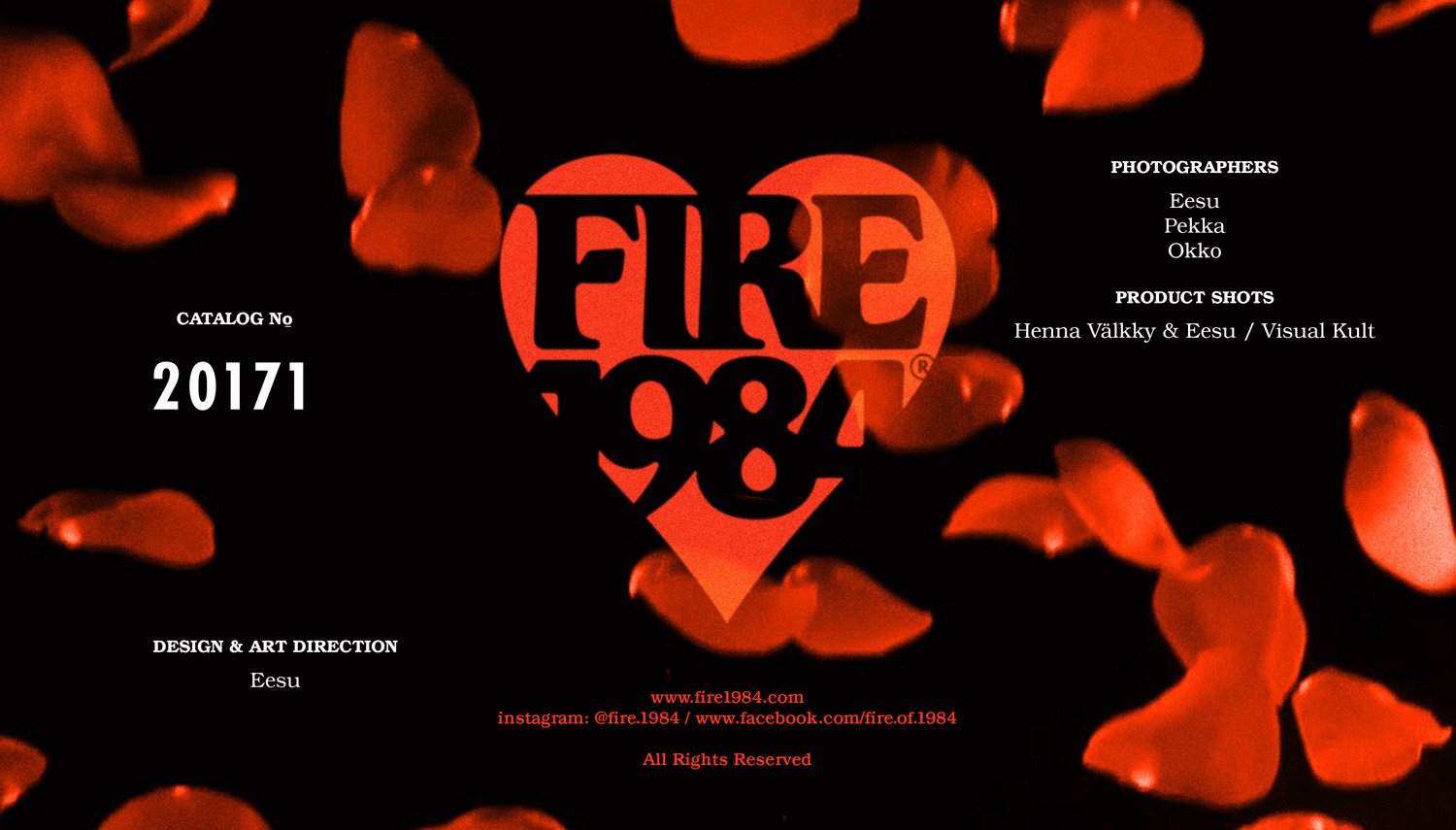FIRE1984 catalog 20171 credits
