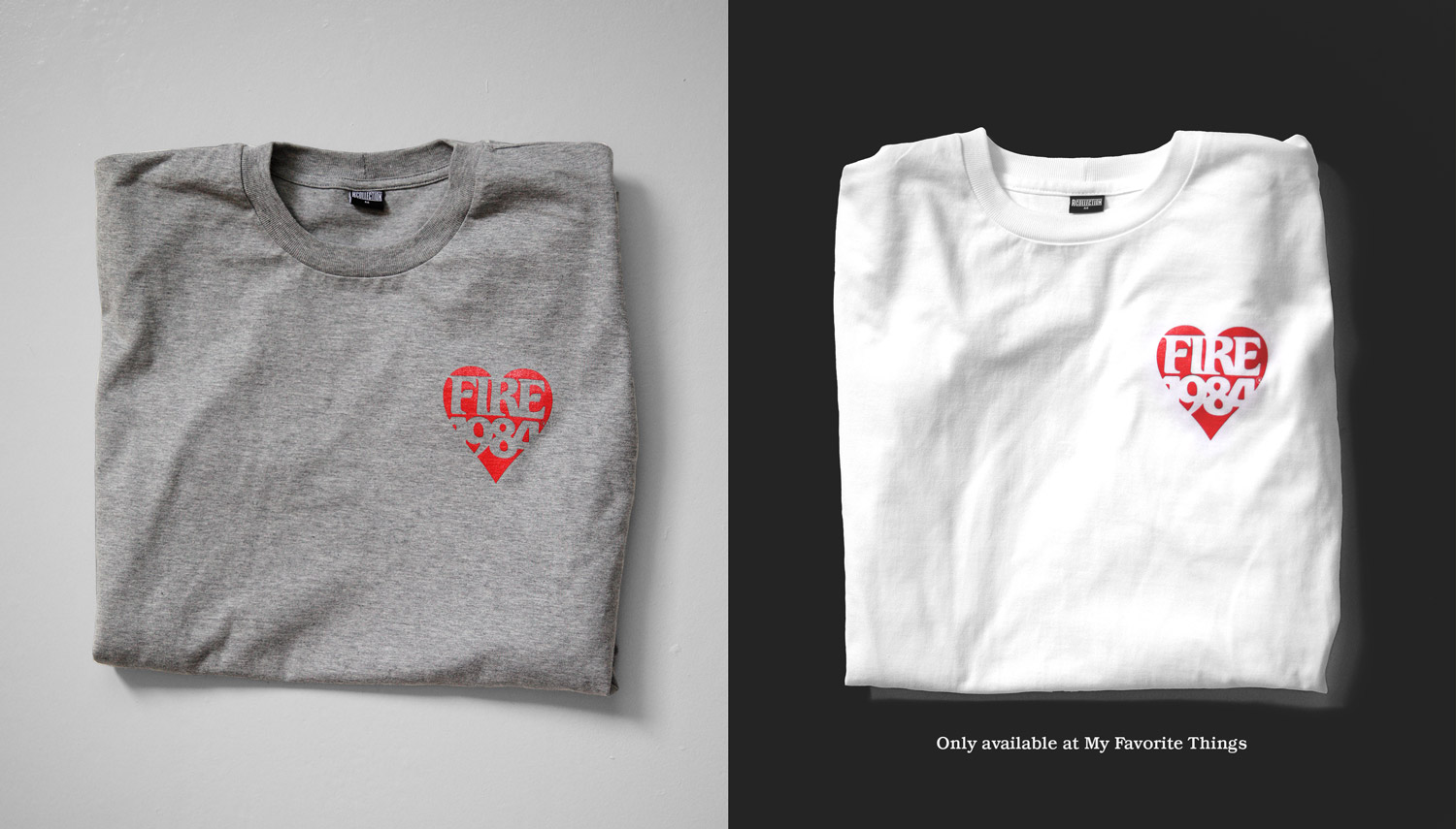 FIRE1984 catalog 20171 tshirt lover gray white