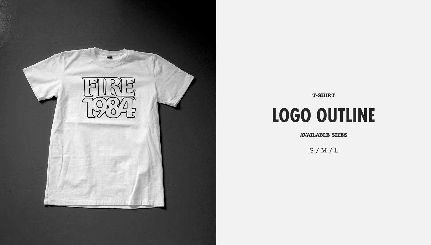 FIRE1984 catalog 20171 tshirt logo outline